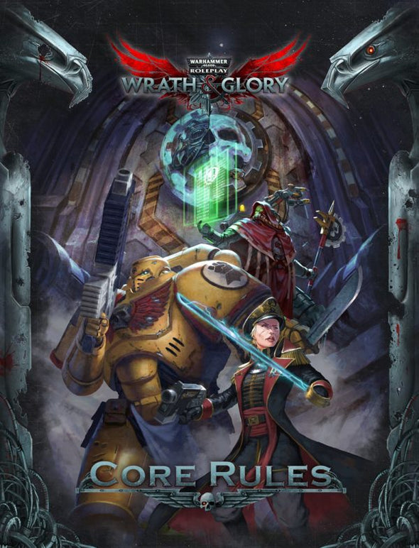 Wrath & Glory, Warhammer 40,000 Roleplay – Core Rules