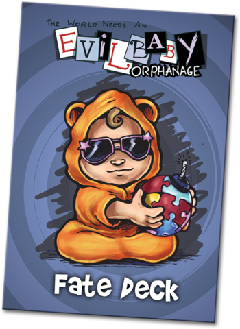 Evil Baby Orphanage Fate Deck
