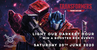 Light Our Darkest Hour - Transformers TCG event