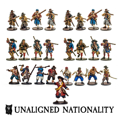 Unaligned Nationality Starter Set