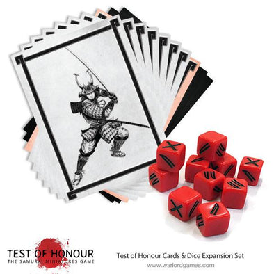 Test of Honour Dice and Cards