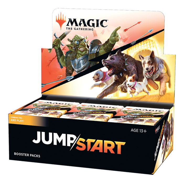 Jumpstart booster boxes