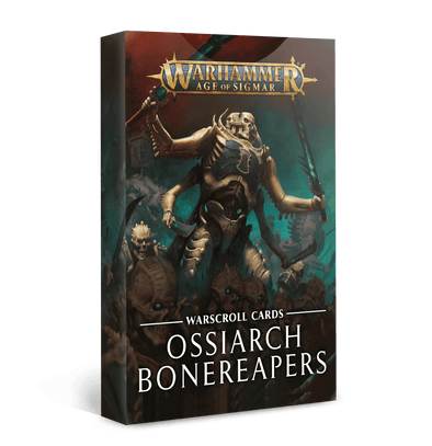 Warscroll Cards Ossiarch Bonereapers