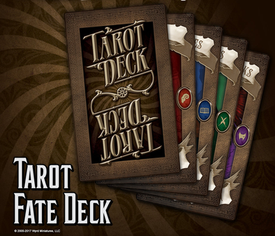 Tarot Card Fate Deck
