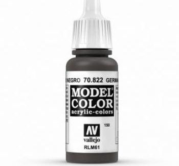 Vallejo Model Color 822 German Cam Black Brown