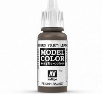 Vallejo Model Color 871 Leather Brown