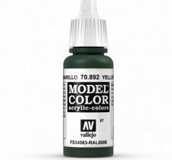 Vallejo Model Color 892 Yellow Olive