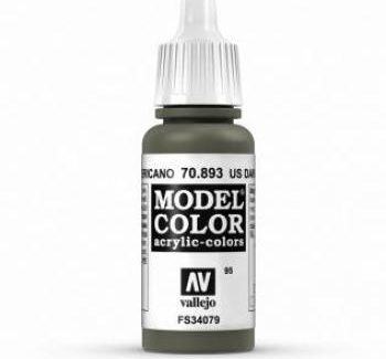 Vallejo Model Color 893 US Dark Green
