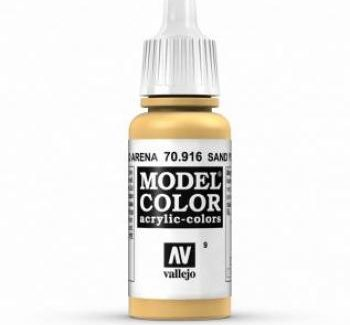 Vallejo Model Color 916 Sand Yellow