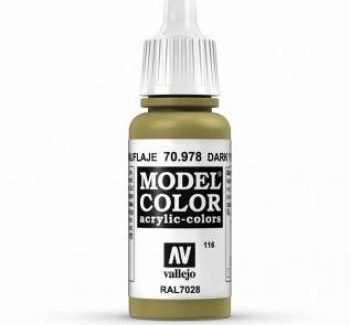 Vallejo Model Color 978 Dark Yellow