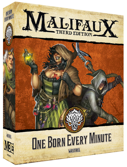 One Born Every Minute - M3e Malifaux 3rd Edition