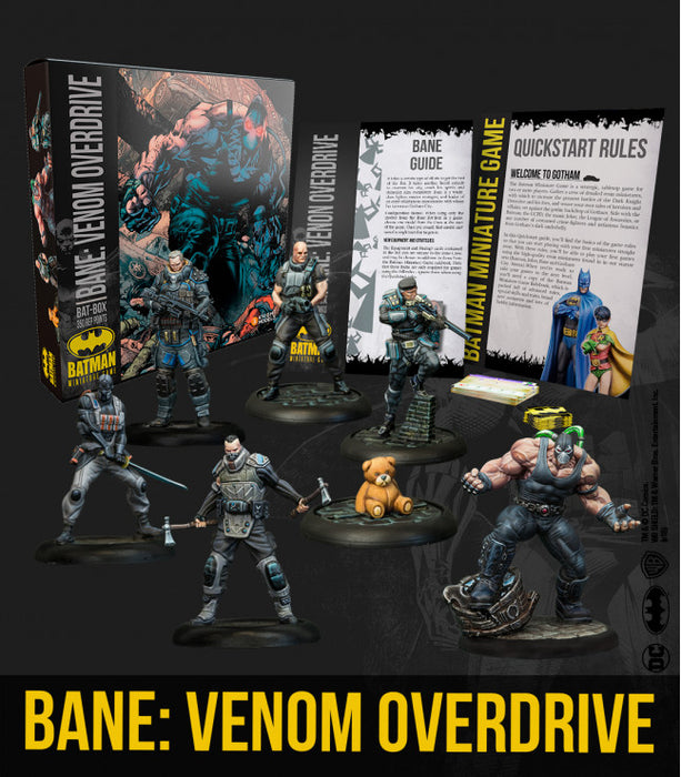 Batman Miniature Game - Batbox Bane: Venom Overdrive