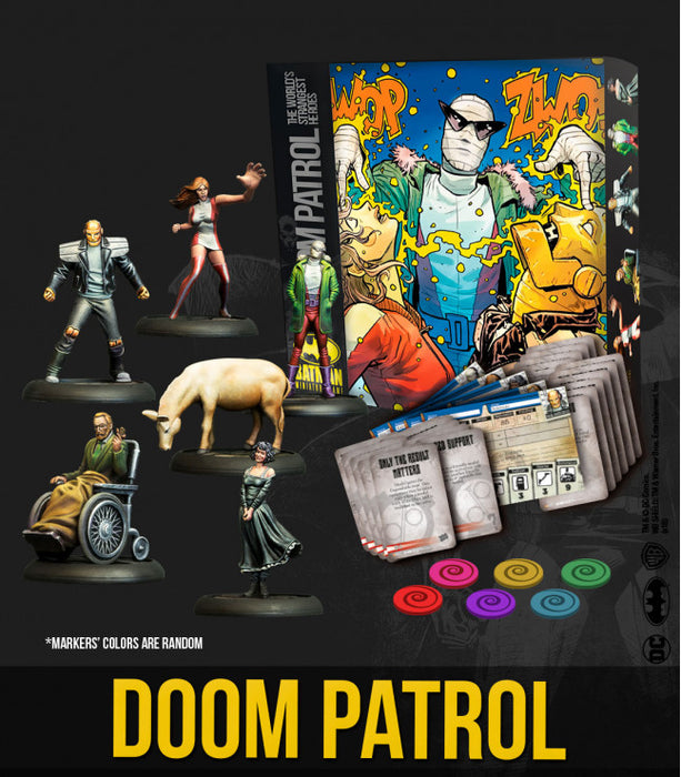 Batman Miniature Game - Batbox Doom Patrol