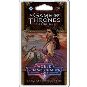 2018 World Championship Deck
