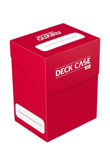 Ultimate Guard Deck Case 80+ Standard Size Red
