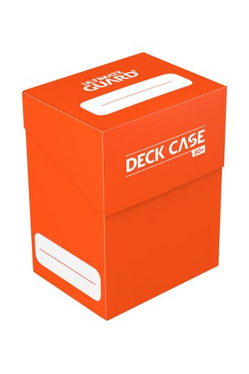 Ultimate Guard Deck Case 80+ Standard Size Orange