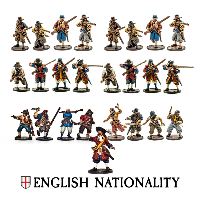 Blood and Plunder English Nationality Starter Set