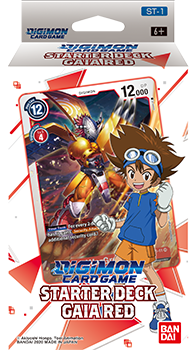 Digimon Card Game - Gaia Red Starter Deck