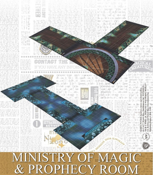 Ministry of Magic & Prophecy Room