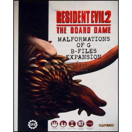 Resident Evil 2 The Board Game Malformations of G B-Files Expansion