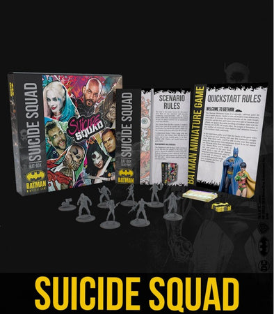 Batman Miniature Game - Suicide Squad Bat Box (Starter Box)