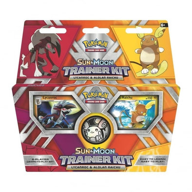 Pokemon Sun & Moon Trainer Kit: Alolan Raichu & Lycanroc