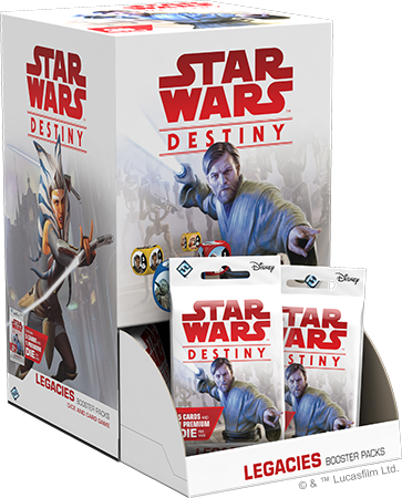 Star Wars Destiny - Legacies Booster Box