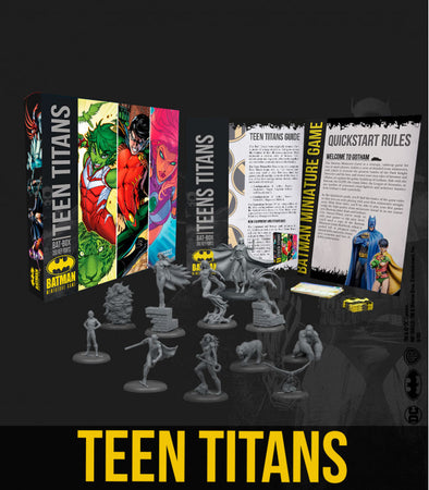 Batman Miniature Game - Teen Titans Bat Box (Starter Box)