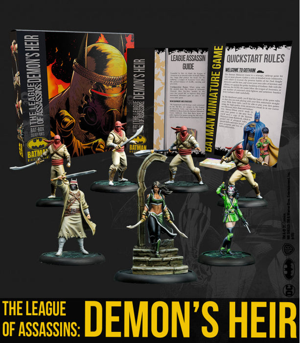 Batman Miniature Game - Batbox League of Assassins: Demon's Heir