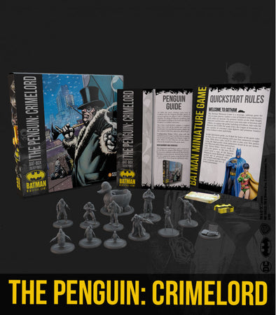 Batman Miniature Game - The Penguin: Crimelord Bat Box (Starter Box)