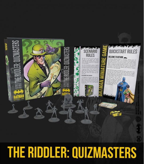 Batman Miniature Game - THE RIDDLER: Quizmaster Bat Box (Starter Box)