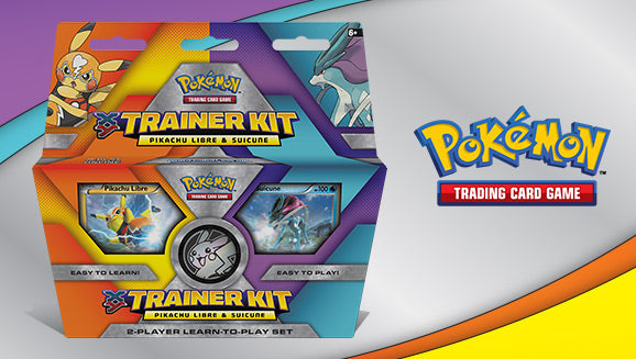 XY Trainer Kit - Pikachu Libre and Suicune