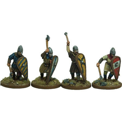 Unarmoured Norman Infantry 1