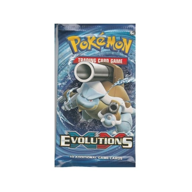 XY Evolutions Boosters