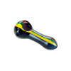 Black Rasta Glass Spoon