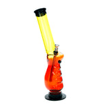 Acrylic Pistol Grip Bong Orange / Yellow