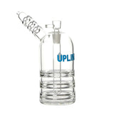 9 inch Upline Upright Bubbler Blue