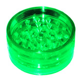Acrylic Pyramid Grinder with Magnet Green everyonedoesit Canada