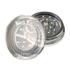 Clear Acrylic Grinder Metal Teeth
