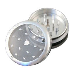 'Push Button' Window Grinder Silver