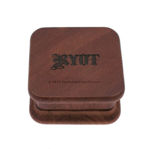 1905 Two Piece Square Magnetic Rosewood Grinder