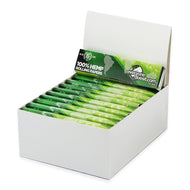 Box Of King Size Slim Hemp Rolling Papers With Tips