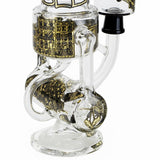 Cake Recycler Oil Rig With Hammerhead Perc