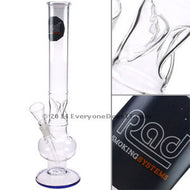 45cm Straight Glass Bubble Bong Systems