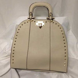 HILARY Studded Satchel