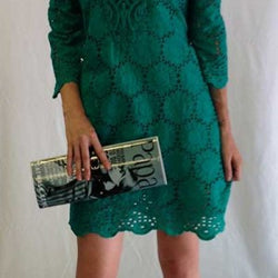Mini Quarter Sleeve Dress
