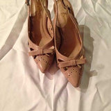 1920's Classic Pink Slingback