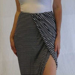 Pencil Strip Skirt