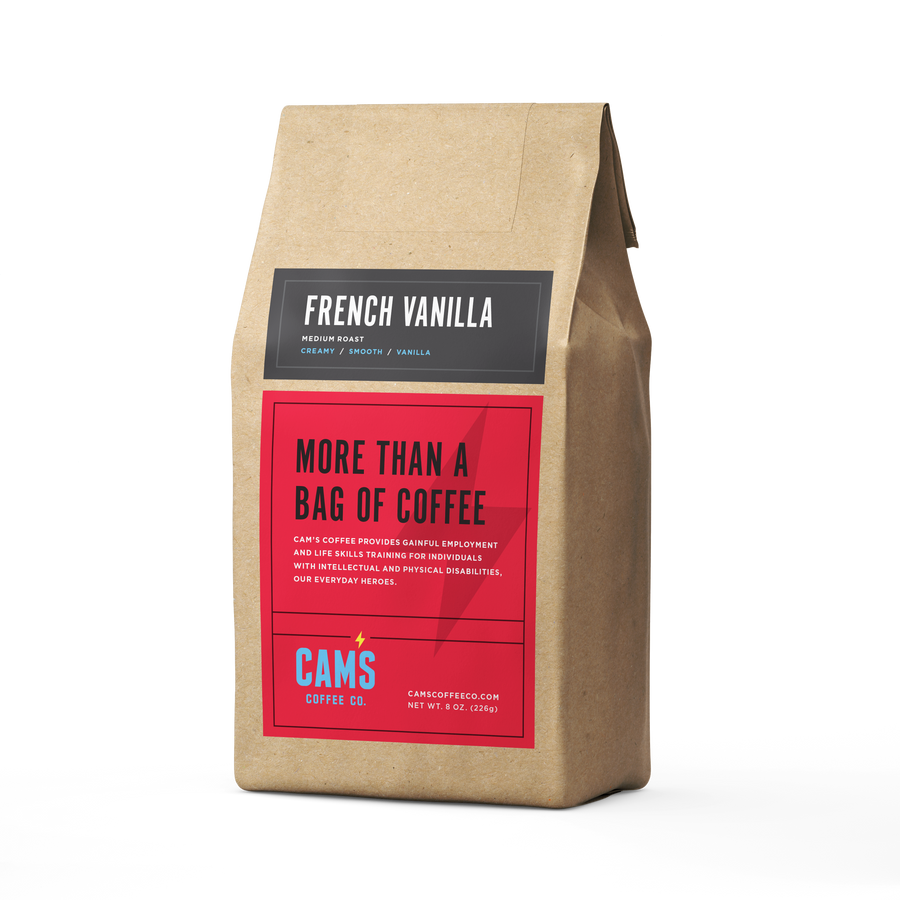French Vanilla Ground Coffee - Cam's Coffee Co.