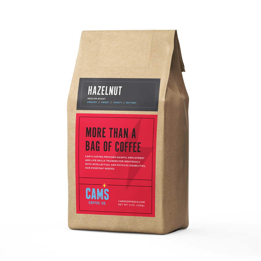 Hazelnut Ground Coffee - Cam's Coffee Co.